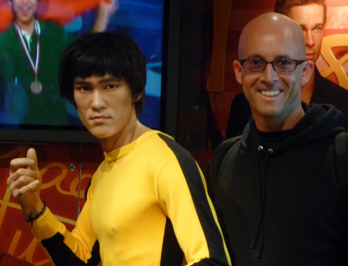 Bruce Lee had a definite chief aim, do you?